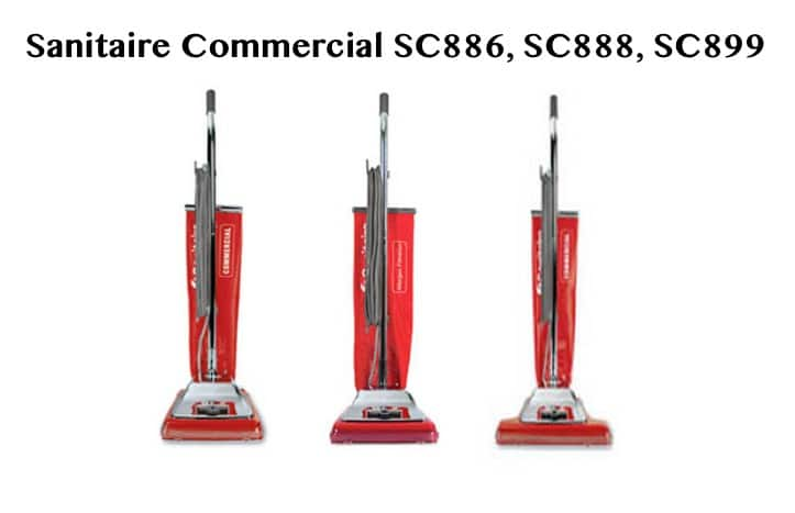 Sanitaire Heavy Duty Commercial Vacuum Cleaners RED GROUP 3