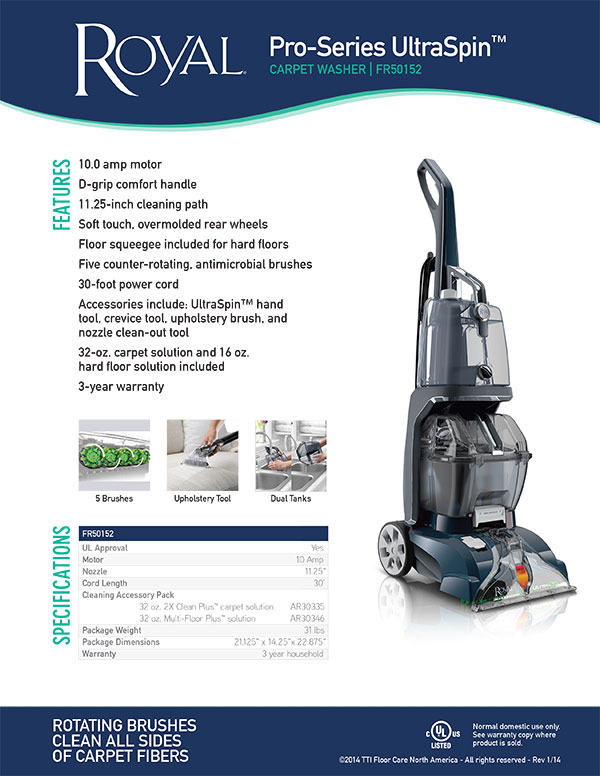 Pro Series Ultraspin A1 Vacuum Solutions