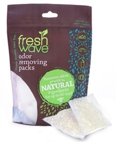 odor removing packs